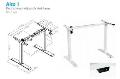 1.2) Alto 1 Motorised Height Adjustable Desk