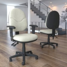 Adlington Operator Chair PCB - Infection Control Fabric