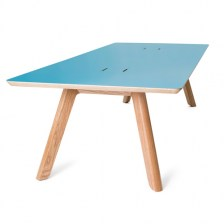 Centro Table with Cable Cut Outs
