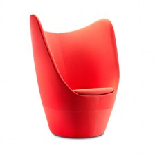 Wing back tub chair