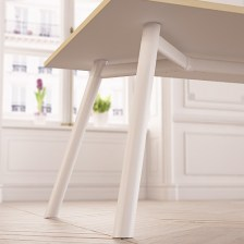 Moment Steel Legs Table