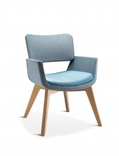 Korus Chair With Oak Base