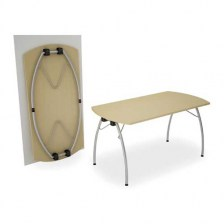 Telford Cowhorn Folding Table