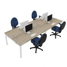 Gresham Double Sided Desking