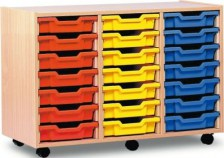 Mobile Trolley Storage (18 Trays)