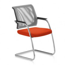 Netwin Mesh Back Cantilever Chair